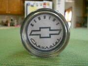 White Chevy Steering Wheel Spinner Chevy Suicide Chevy Brodie Knob Chevy Knob