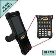 Zebra Mc930p-gsbgg4na Mobile Computer Barcode Scanner 1d 53 Key Android 10