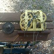 Seth Thomas 1860 - 1870 Clock Movement With Extras. Weight Driven.