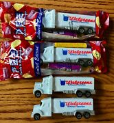 Pez| Walgreens Semi Trucks Advertising Dispensers - Two New In Package