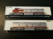 106 2402 N Scale Kato E 8/9 A+b Locomotive Set At And Sf More From A+ Collection