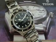 Tudor Submariner Oysterdate Black Dial 40mm Ref. 79090 With Box And Papers