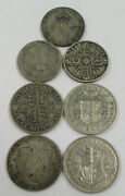 1921-1943 Foreign / World Silver Lot Of 7- Coins