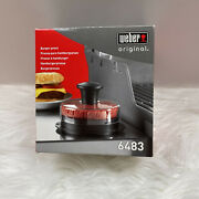 Weber Burger Press 1/4lb And 1/2lb Grill Cooking Bbq Kitchen Accessory Tool New