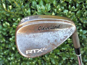 Very Nice Cleveland Rtx-4 Tour Raw 54/10 Mid Wedge Dg Tour Issue S400 Steel