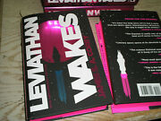 Signed 1st James Sa Corey Leviathan Wakes Deluxe Anniversary Ed. The Expanse