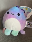 Squishmallow Clip 3.5andrdquo Octopus Andldquomary Nwt Smoke Free/pet Free Home