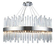 Crystal Chandelier Quality Modern Foyer Dining Room Ceiling Fixture 18 Light 32