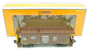 Lionel 6-27615 New York Central Bay Window Lighted Caboose Ex/box