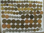 Lot Of 177 Different Obsolete Mexico Coins - 1936 To 1991 - Circulated