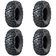 4 Pack Tusk Trilobite® Tire 26x10-12 For Bombardier Outlander Max 650 H.o.