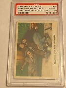 1959 Fleer The 3 Three Stooges 25 Next Time Well... Twinight Psa 10 Pop 1 Of 4