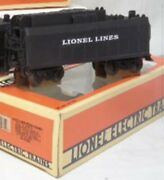 ✅lionel Lines Operating Air Whistle Coal Tender Car 6-16673 For Steam Engine
