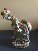 Antique Rare Imperial Russian Porcelain Figurine By Gardner Miscow C.1880