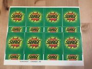 Coca-cola Collectible 1999 Surge Soda Fountain Decals- New Old Stock