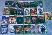 Xbox 360 Game Lot 25 Games , Untested.