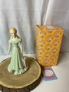 Enesco Growing Up Birthday Girls Blonde Age 15 Porcelain Figurine 1981 And Box