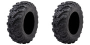 2 Pack Tusk Mud Forceandreg Tire 25x8-12 For Arctic Cat 650 H1 4x4 Automatic