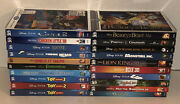 Walt Disney 3d Blu-ray Lot Of 20 With Slipcovers Lion King Toy Story Mermaid Up