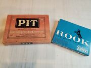 Vintage Pit Card Trading Game 1919 Bull And Bear Edition- Vintage Rook 1963