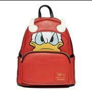 Loungelfy Disney Donald Duck Devil Donald Cosplay Mini-backpack Pre-order🎃🎃🎃
