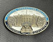 Usss Us Secret Service Sos Special Operations Section Serialized Challenge Coin
