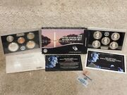 2019-s U.s. Mint Silver Proof Set With Lincoln W Reverse Proof Penny
