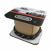 Oregon Chainsaw Chain- 100ft Roll 3/8in Pitch .050in Gauge Model 91pxl100u