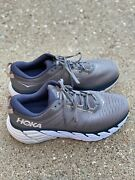 Hoka One One Gaviota 3 Menandrsquos Size Us 12 Ee Charcoal Gray/ombre Blue Running Shoe