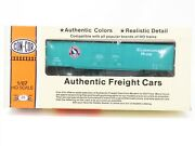 Ho Scale Con-cor 0001-009614 Gn Great Northern 60' Greenville Boxcar Kit 139039