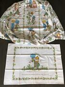 Vintage Holly Hobby 2pc Sheets Fitted And 1 Pillowcase