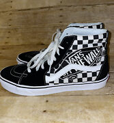 Off The Wall Black White 500714 High Top Menandrsquos Size 11
