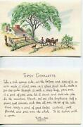 Vintage West Horse Cowboy Dog Tipsy Charlotte Recipe Christmas Quilts Dolls Card