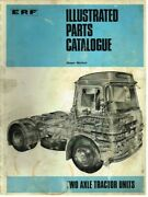 Erf Lv 64 Gxb/cu/re Tractor Unit Orig. 1969 Factory Illustrated Parts Catalogue