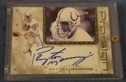 2002 Upper Deck Mvp Pro-sign Peyton Manning Auto Card Ps-pm