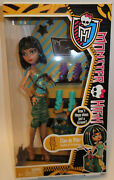 Monster High Doll Cleo De Nile Aren't These Shoes Just A Scream Shoe Set New