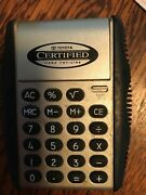 Toyota Calculator Advertising Certified Used Cars Push Top Collectible Rare