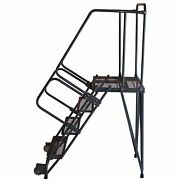 Ballymore Rolling Ladder Overall Height 90 In Steps 6 Cap 450 Lb