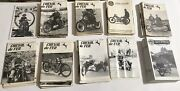 Lot Of 102 Vintage Cheval De Fer Magazines Ariel Owners Motorcycle Club + No Res