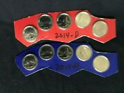 2014 America The Beautiful Bu Lot Uncirculated Business Proof Set 35 Coins