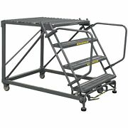 Ballymore Rolling Work Platform Overall Height 40 In Steps 4 Cap 800 Lb