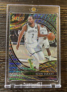 2020-21 Panini Select 259 Kevin Durant Nets Courtside Elephant Ssp Case Hit