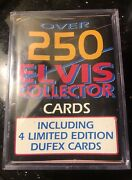 1992 The Elvis Presley Collection 250 Cards With 4 Limited Edition Dufex Cards