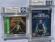 2 Sealed 9.6 A++ Tomb Raider [greatest Hits] Ps1 9.2 A Tomb Raider Ps2