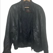 Couture By J. Park Black Leather Jacket Size 46