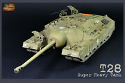 Pro-built 1/35 T28 Us Super Heavy Tank T95 Finished Model Preorder