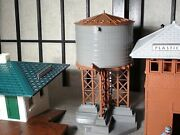 Plasticville O Scale Train Station +water Tower+ Switch Tower+ Platform + More