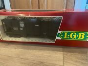 Lgb G Scale 4076 East Broad Top Well Weathered Coal Hopper Never Been On Rails