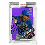 Topps Project 70 Card 562 2021 Francisco Lindor By Jacob Rochester Presale 562