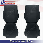 Front Driver And Passenger Black Cloth Seat Covers Fits 2007 To 2012 Toyota Tundra